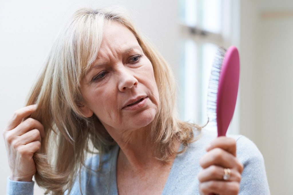Thyroid can contributer to rapid hair loss