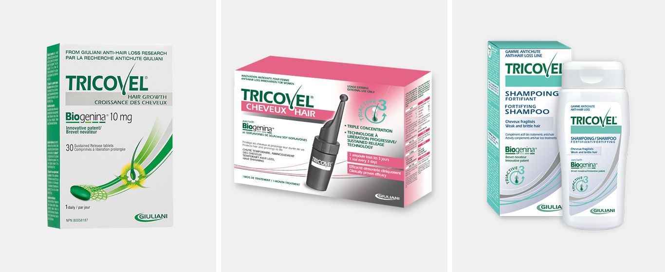 Tricovel Hair Range Products