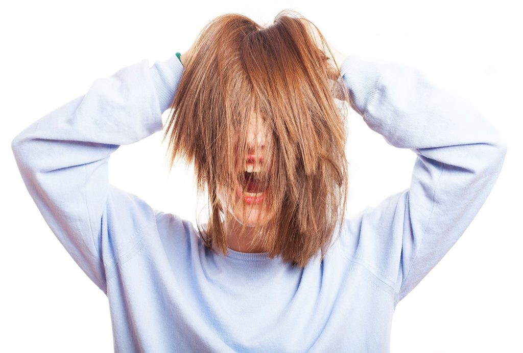 Stress Stopping Hair Growth